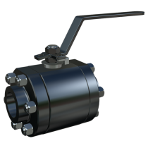 3PCFORGED STEEL FLOATING BALL VALVE